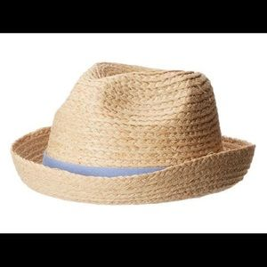 APPAMAN kids classically cool straw fedora hat